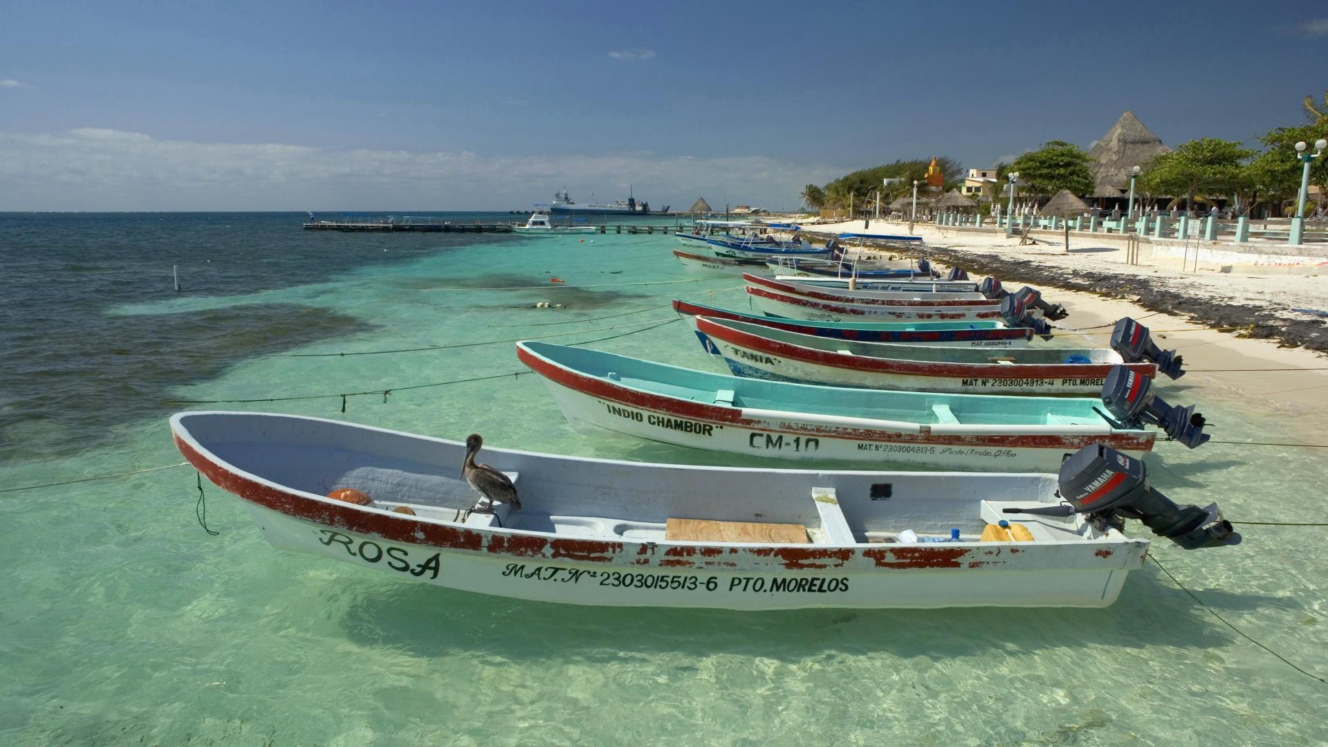 Mexico Boats Wallpaper 1920x1080 Mexico Boats Fishing Vehicles 1920x1080
