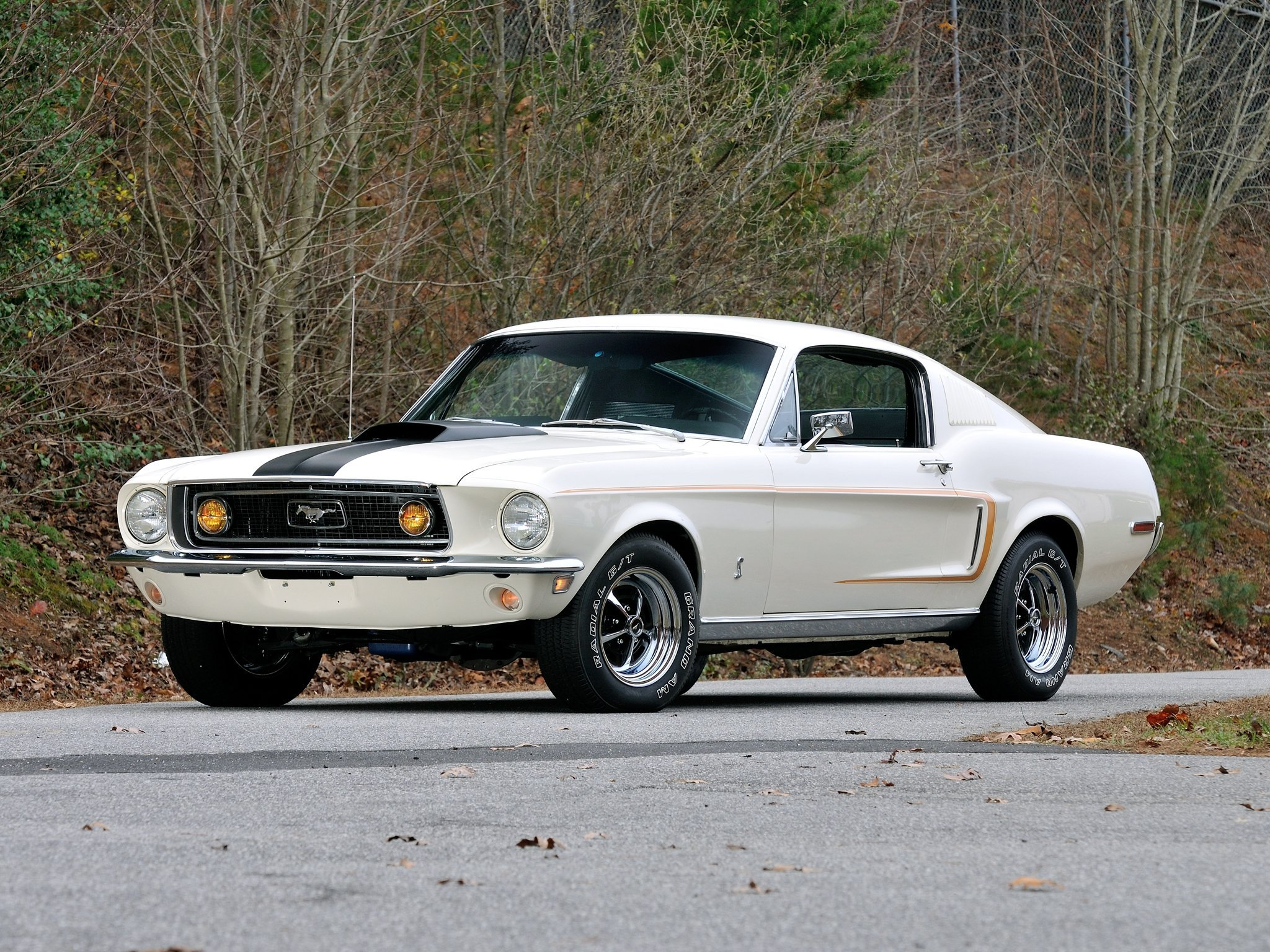 1968 Mustang Wallpaper Wallpapersafari