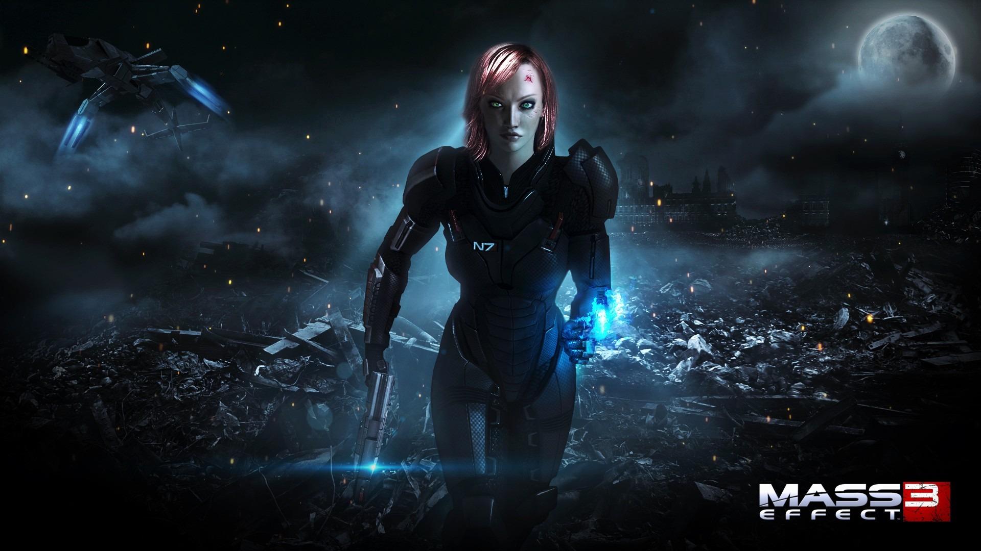 Free Download Mass Effect 3 Desktop Wallpaper Sf Wallpaper