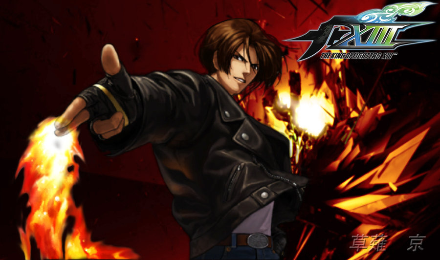Kyo Kusanagi in KoF XIII by Le Arc 7thHeaven 900x532