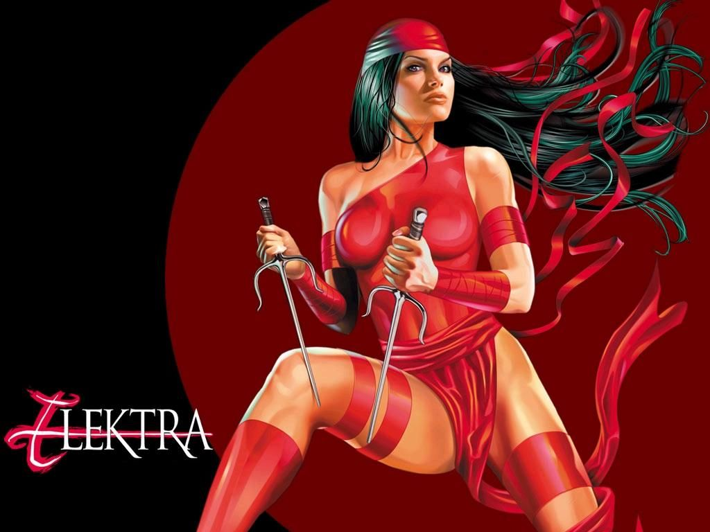 Elektra Natchios usually referred to only by her first name 1024x768