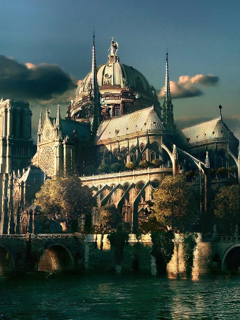 Notre Dame Cathedral Paris 768x1024