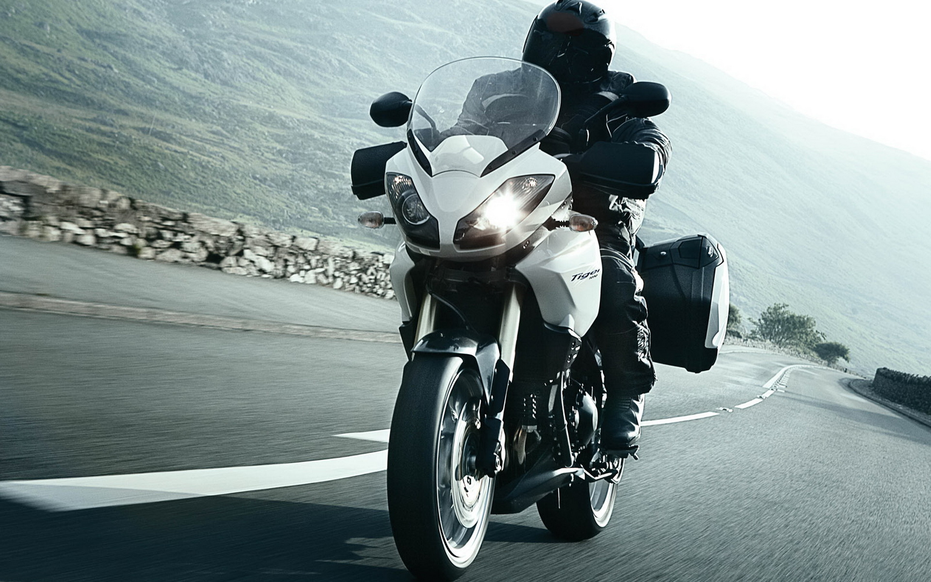 Triumph Tiger wallpapers and images 1920x1200