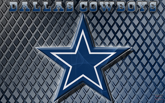 Wallpapers By Wicked Shadows Dallas Cowboys Logo Wallpaper 640x400