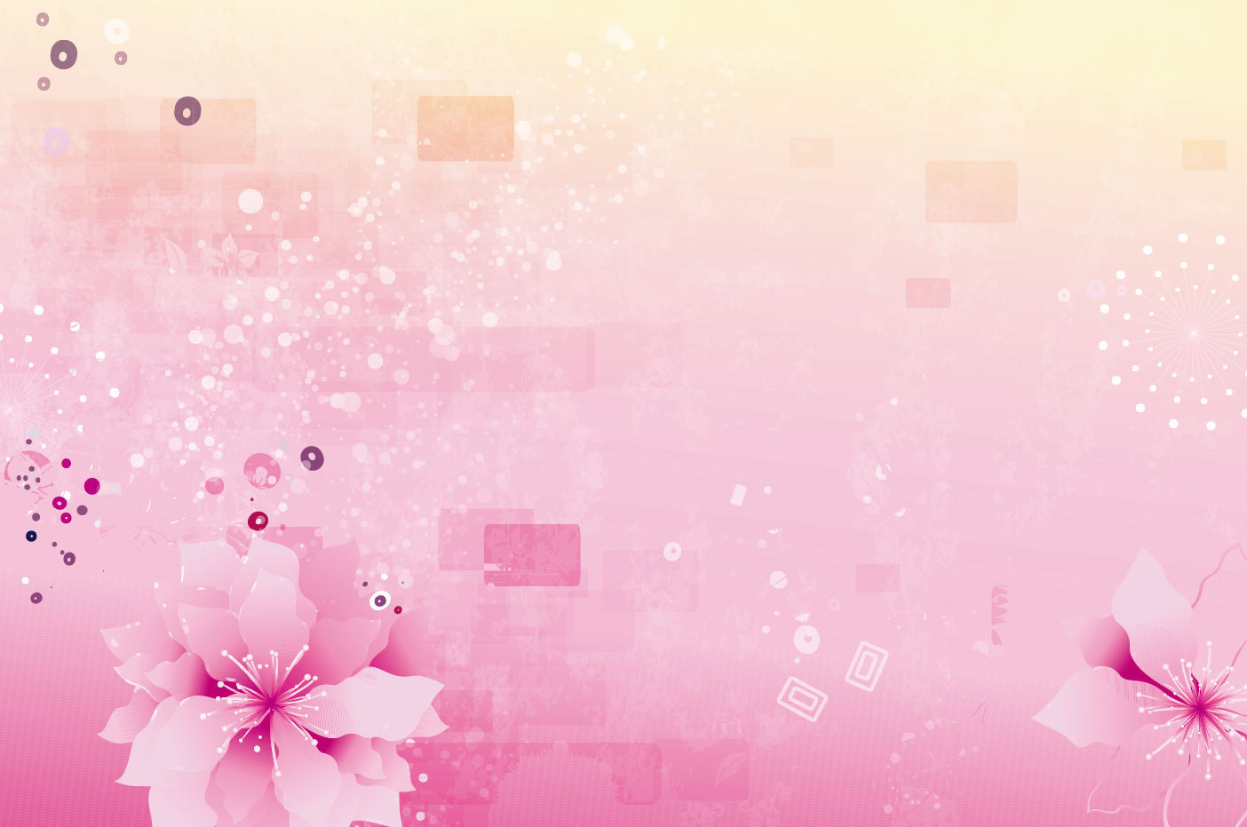 Free Download Abstract Pink Flowers Background Vector Graphics