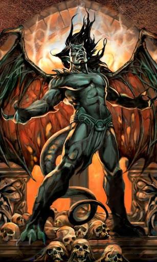 Go Back Gallery For Jesus Vs Devil Wallpaper 307x512