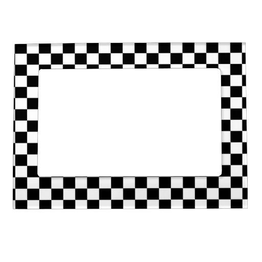 Free Black And White Checkered Wallpaper Border