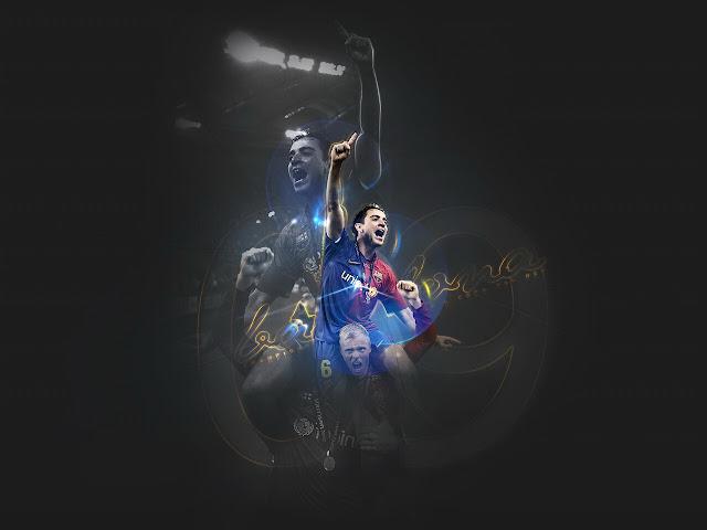 Football Super Star Player Xavi Hernandez New HD Wallpapers 2013 640x480