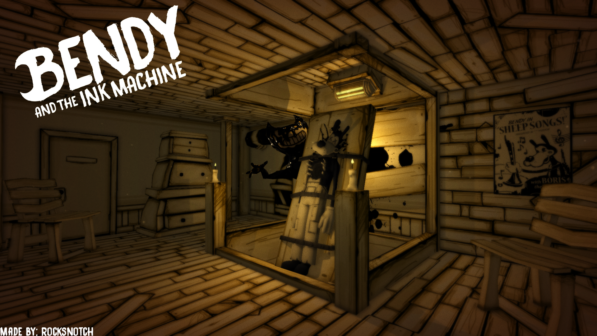 Free Download Bendy And The Ink Machine Phone And Desktop
