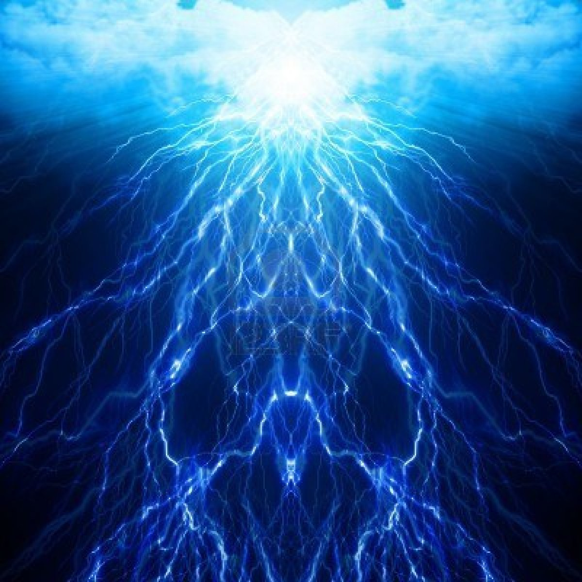 blue lightning wallpaper wallpapersafari