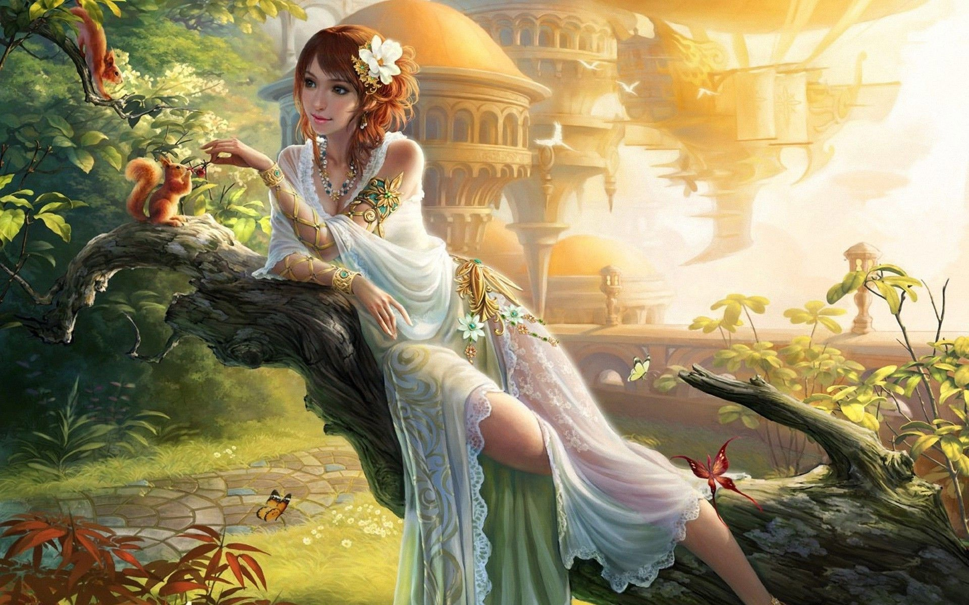 70 Hd Fairy Wallpapers on WallpaperPlay 1920x1200