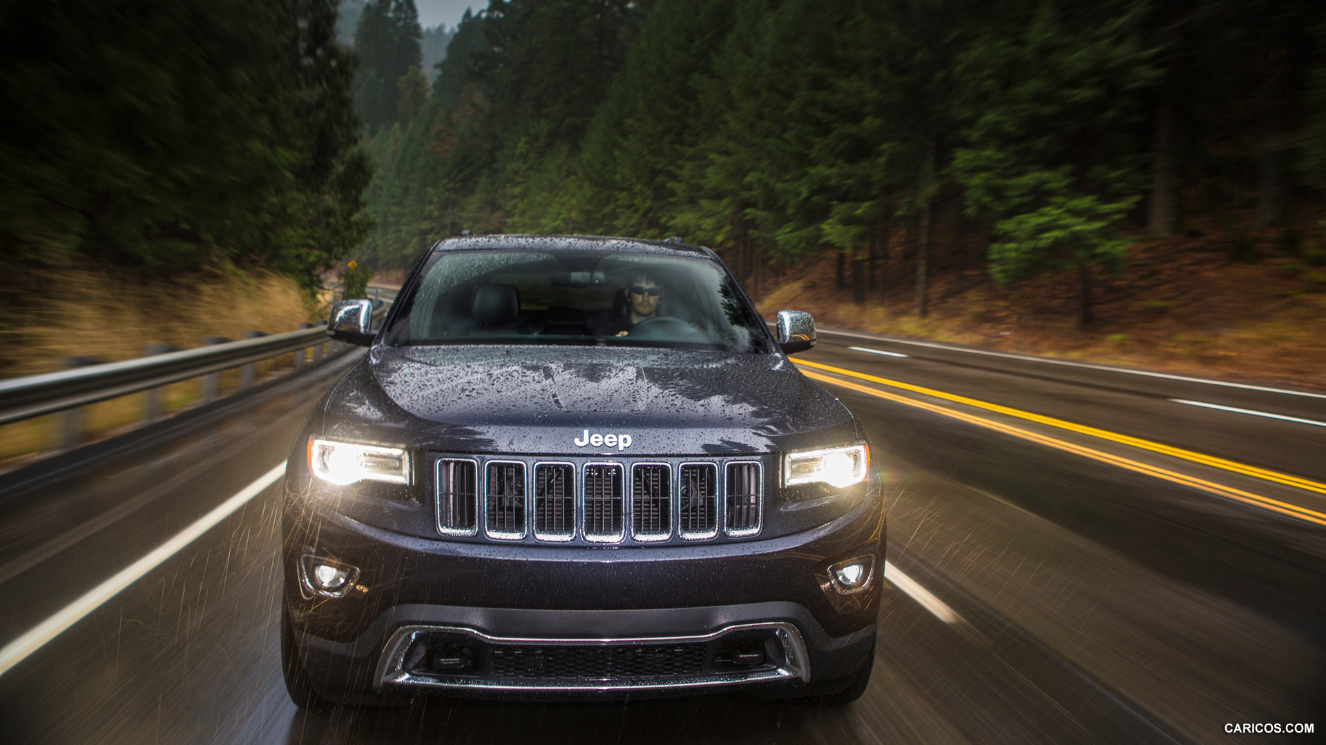 2014 Jeep Grand Cherokee Limited   Front HD Wallpaper 5 1920x1080