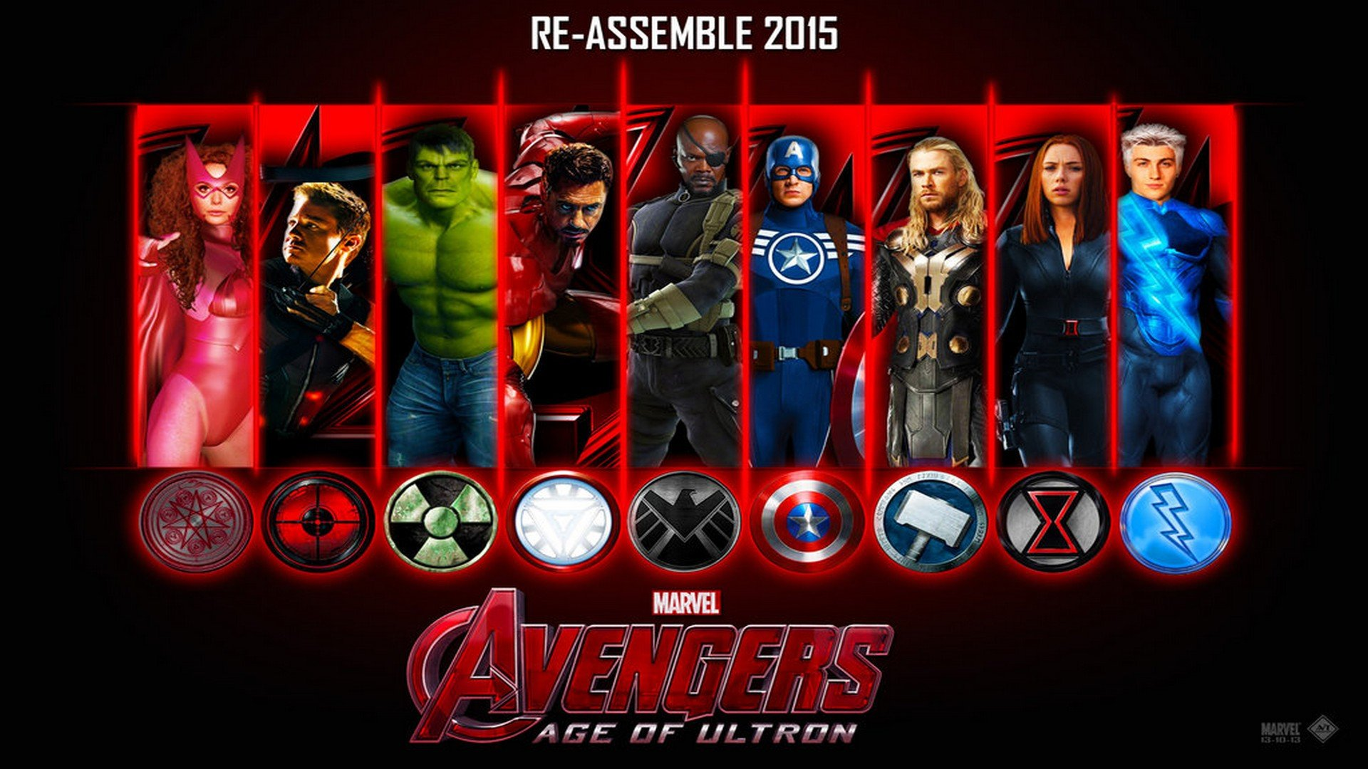 Avengers Age of Ultron 2015 Wallpaper Desktop   4   HD Wallpapers 1920x1080