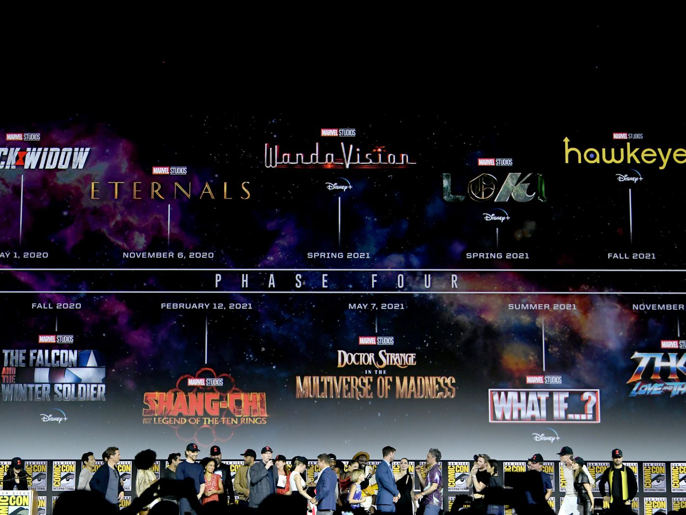 Marvel reveals massive Phase Four film and television plan   The Verge 1400x1050