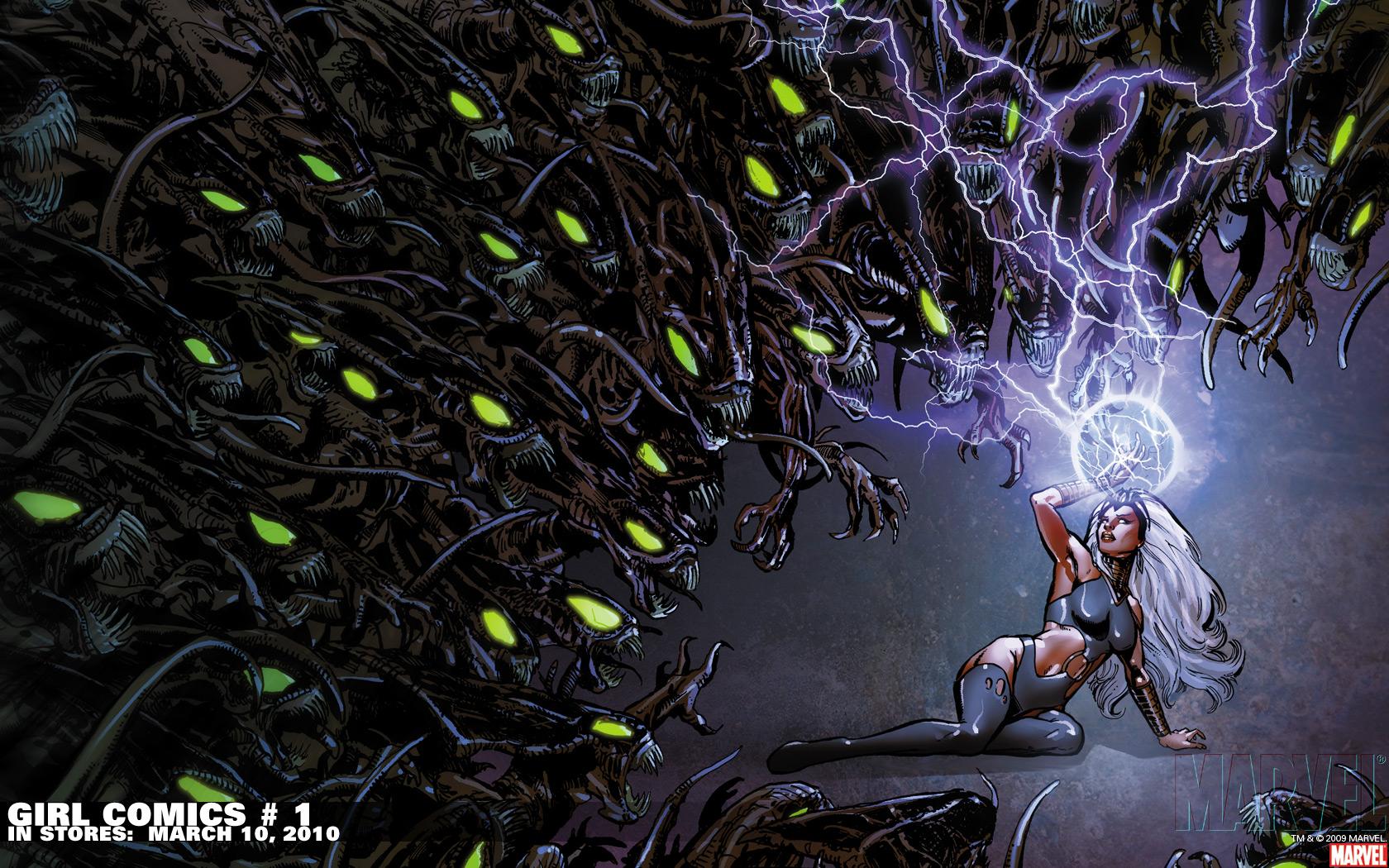 Men Storm Wallpaper 1680x1050 XMen Storm Marvel Comics 1680x1050