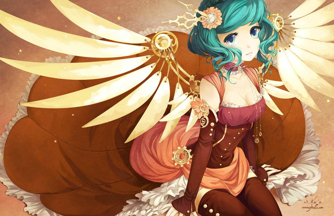 Steampunk Wings by zetallis 1111x719