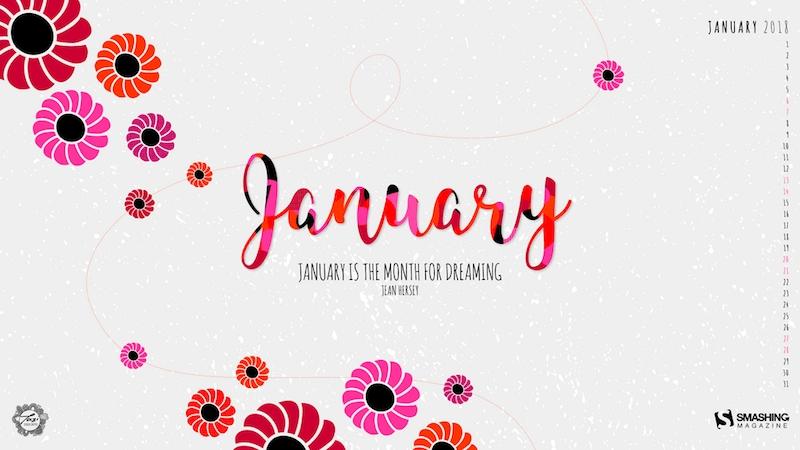 January 2019 Desktop Calendar Wallpaper Site About Template 800x450