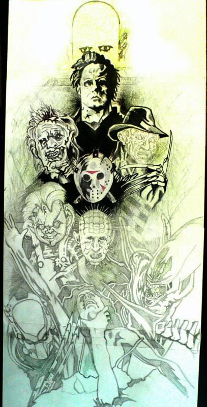 Horror Movie Icons by CoonDizzle 407x798