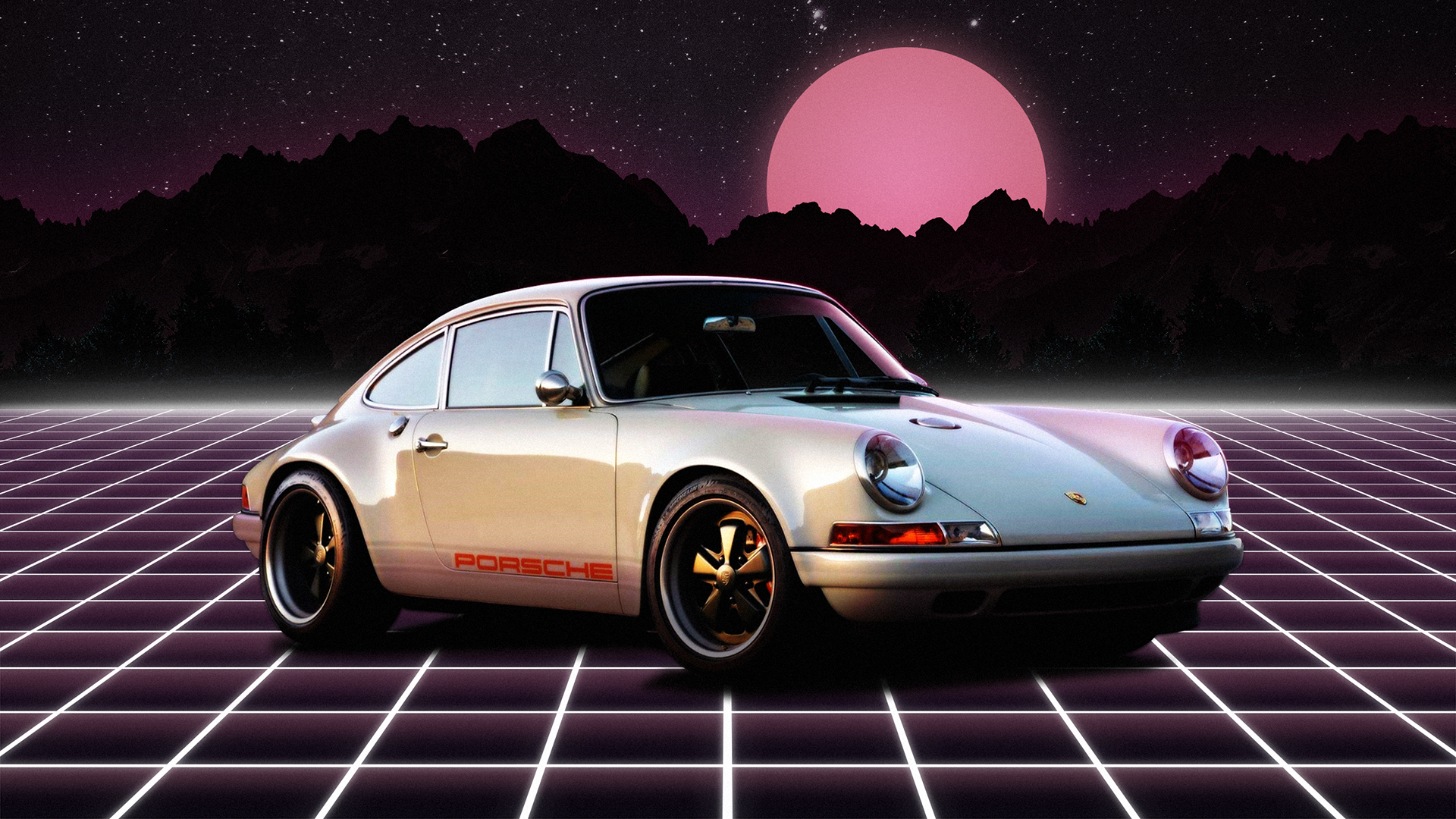 Porsche 911 Wallpaper outrun 1920x1080