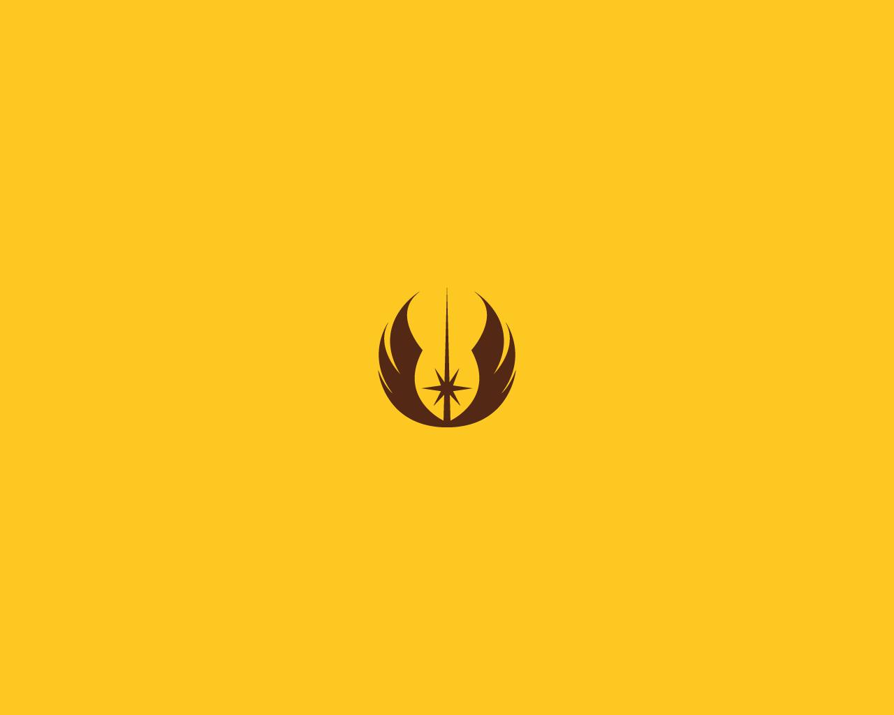 Jedi Logo Wallpaper Wallpaper jedi emblem by 1280x1024