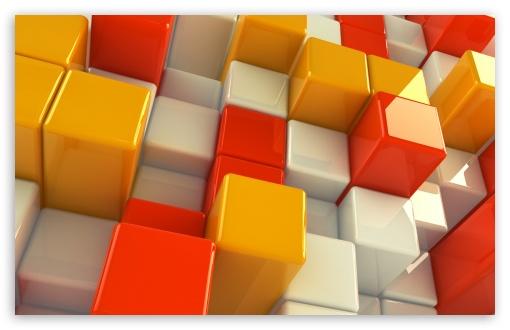 3D Cubs HD desktop wallpaper Widescreen High Definition 510x330
