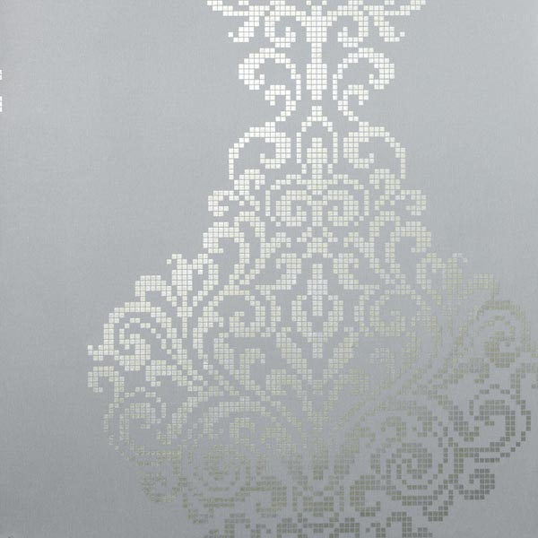 20749 Silver Foil Damask   Lux   Sparkle Wallpaper by Kenneth James 600x600