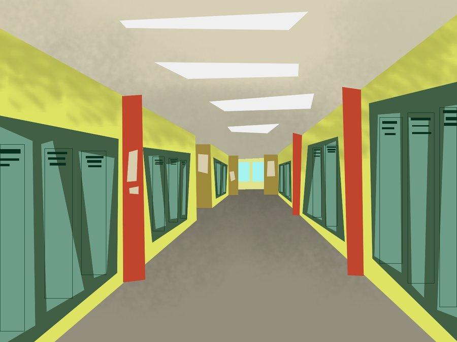 Total Drama School Background by hielorei 900x675