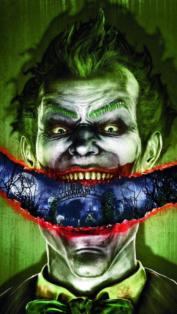 Joker   Batman   Arkham Asylum Mobile Wallpaper 8485 720x1280