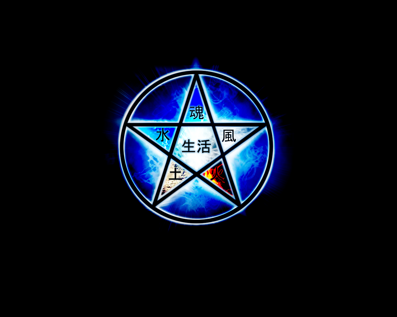 Dragon Pentacle Wallpaper Pentagram wallpaper by 1280x1024