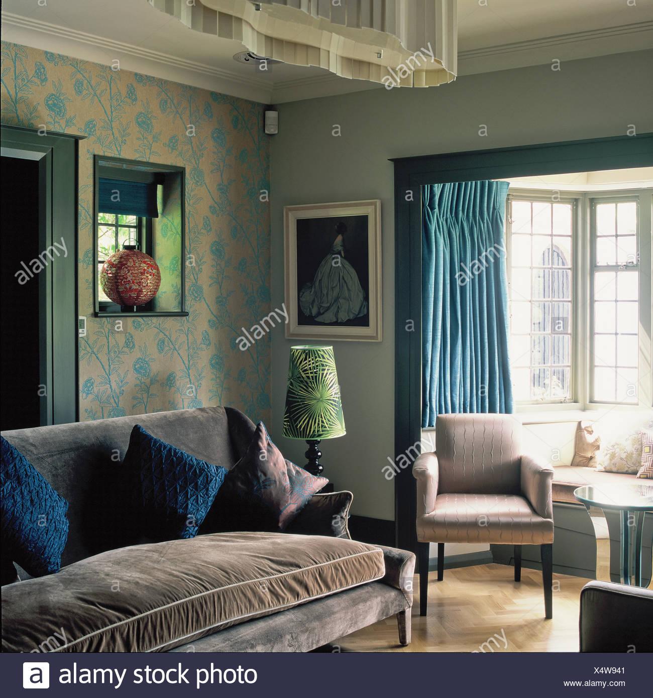 Upholstered Wallpaper Stock Photos Upholstered Wallpaper Stock 1300x1390