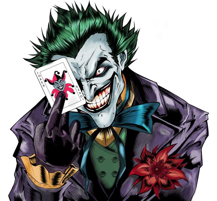 Joker by nyctris on deviantART 900x833