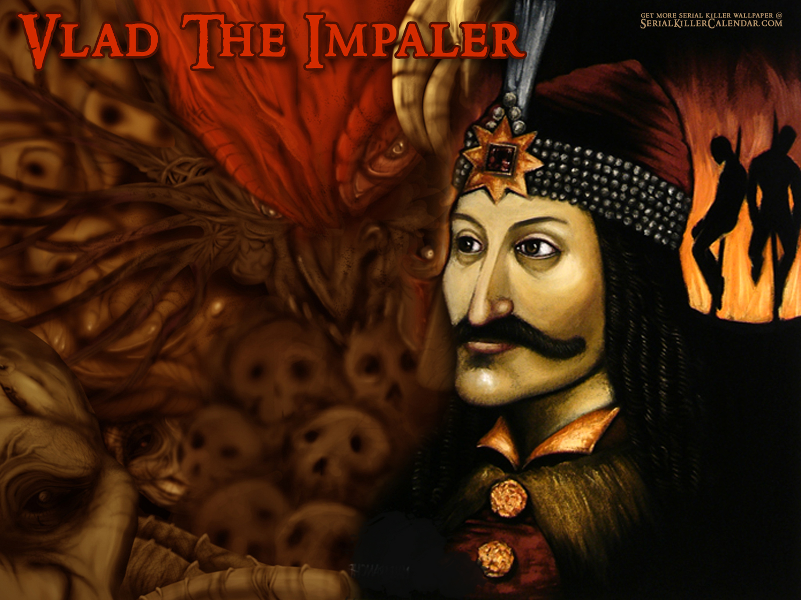 Vlad the Impaler   Serial Killers Wallpaper 586891 1600x1200