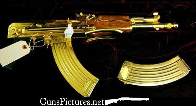 Gold Ak 47 Wallpaper Gold Ak 47 Wallpaper 640x347