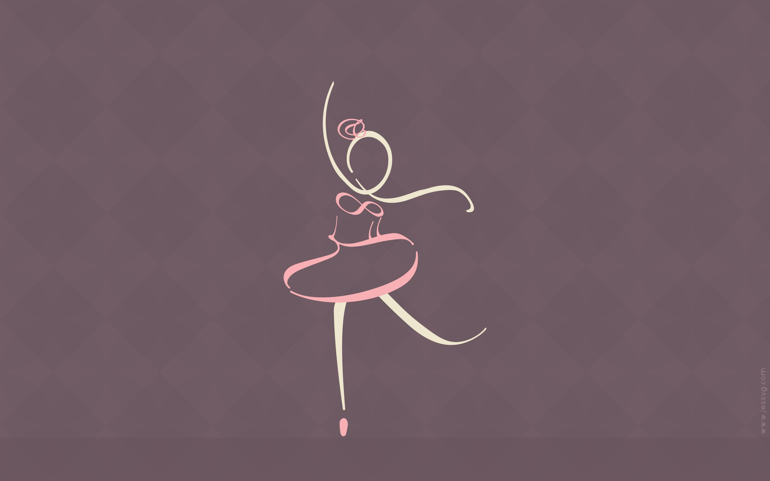 ballerina wallpaper wallpapersafari