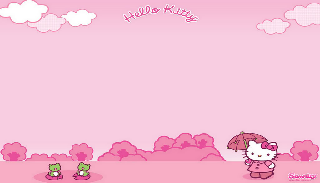 Hello Kitty Pink Background Or Wallpaper Photo by xHyuu Photobucket 1024x585