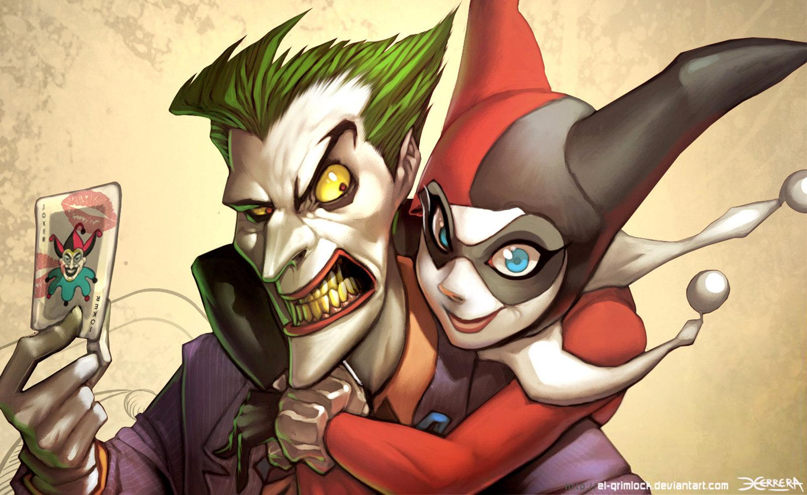 Joker Harley Quinn Wallpaper - WallpaperSafari