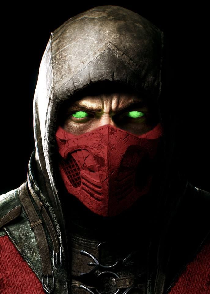 MKX Scorpion Red Fantasy Pinterest 687x960