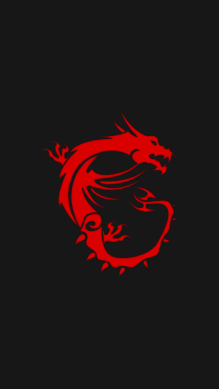 720x1280 Msi Dragon Logo Wallpapers
