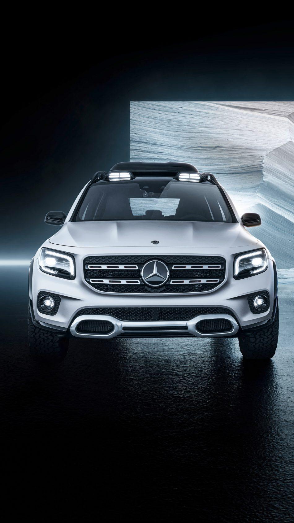 Download Mercedes Benz Concept GLB 2019 Pure 4K Ultra HD 950x1689