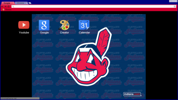 Cleveland Indians Chrome Themes, Desktop Wallpapers & More