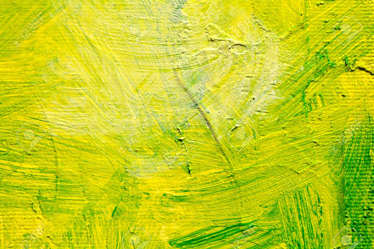 Green Oil Abstract Background Painting Green Acrulic Paint On 1300x866