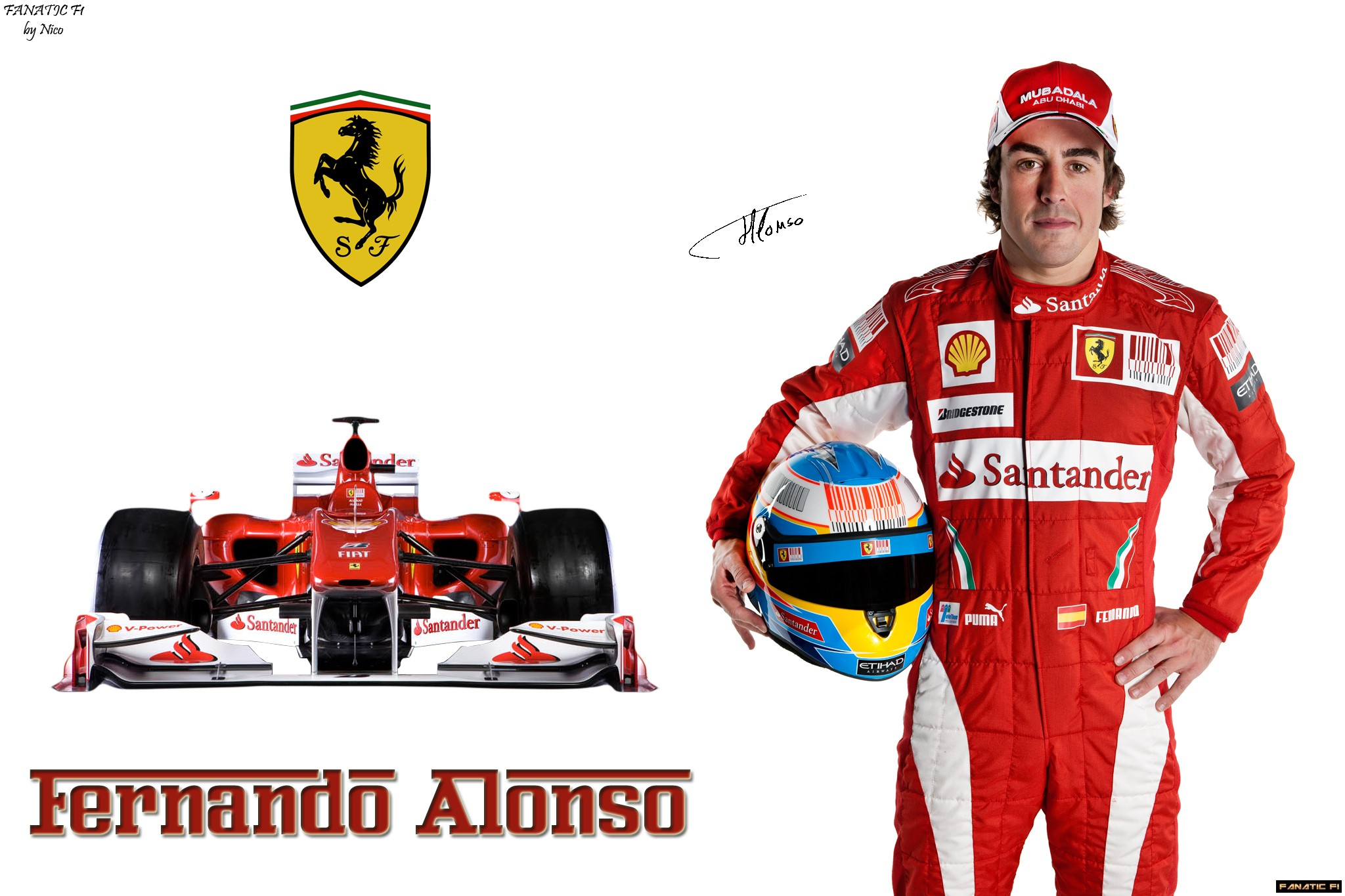 Fernando Alonso car wallpaper High Quality WallpapersWallpaper 2048x1365