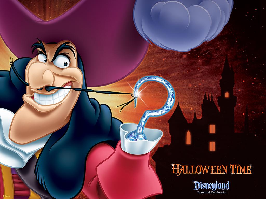 Halloween Time at Disneyland Resort Captain Hook Disney Parks Blog 1024x768