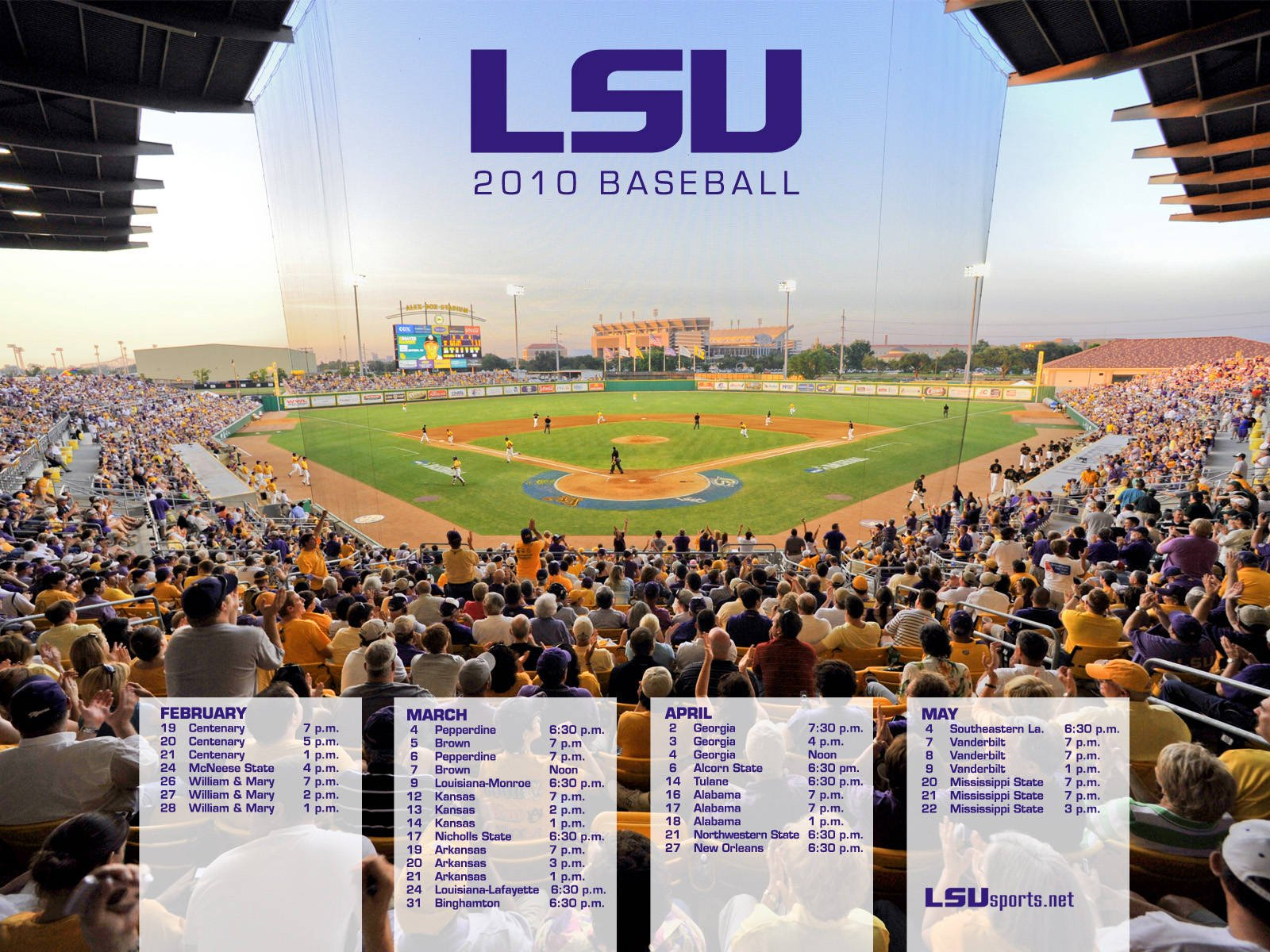 LSU Baseball Wallpaper   Request for 2015 TigerDroppingscom 1600x1200