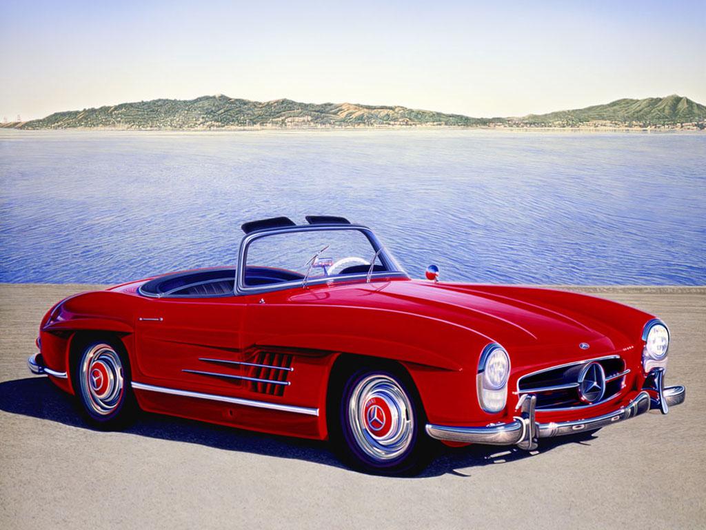 ... 300SL Classic 1024x768 Car Deluxe Wallpaper Wallpaper Resolution
