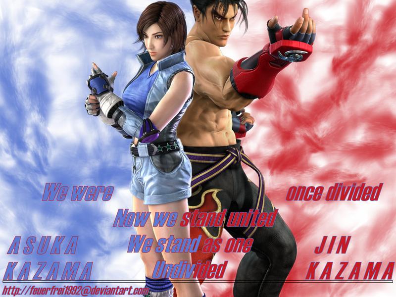 Free Download Asuka And Jin Kazama Wallpaper By Feuerfrei1992png The Tekken 800x600 For Your Desktop Mobile Tablet Explore 48 Jin Kazama Wallpaper Tekken 5