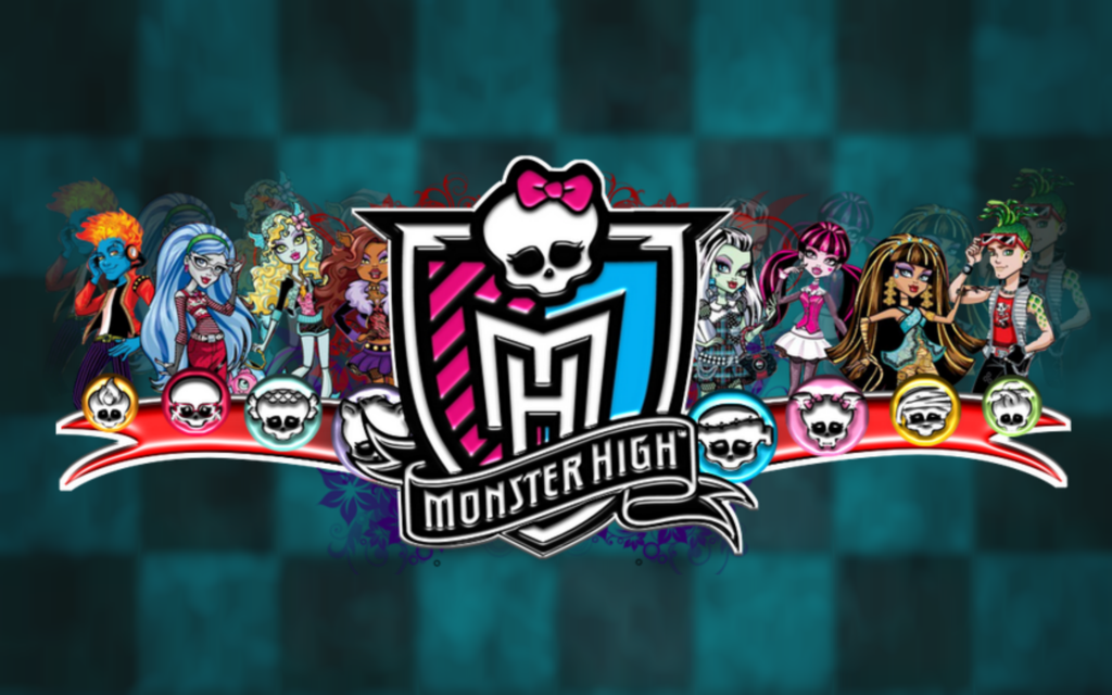 Monster High   Monster High Desktop and mobile wallpaper Wallippo 1024x640