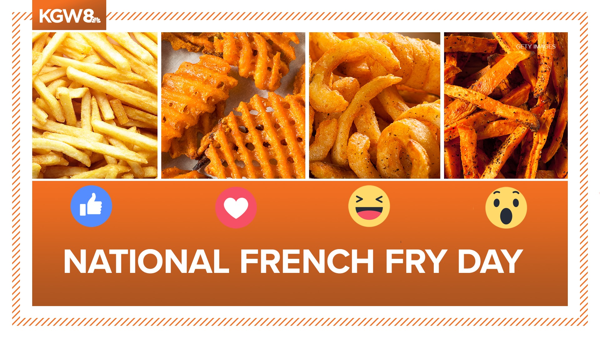 KGW TV   National French Fry Day Whats your favorite fry Facebook 1920x1080