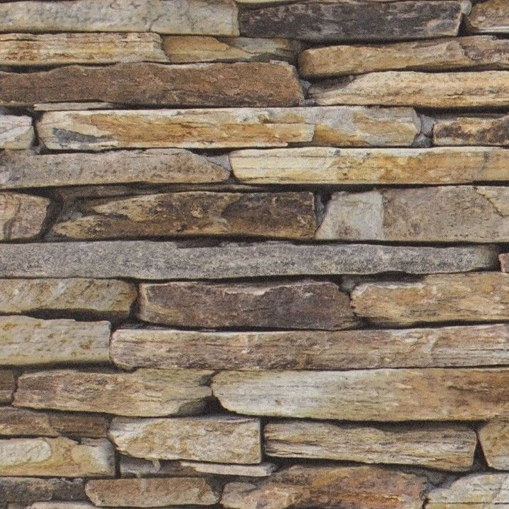 Brown Beige Grey   9142 17   Realistic Dry Stone Wall   Brick 1000x1000