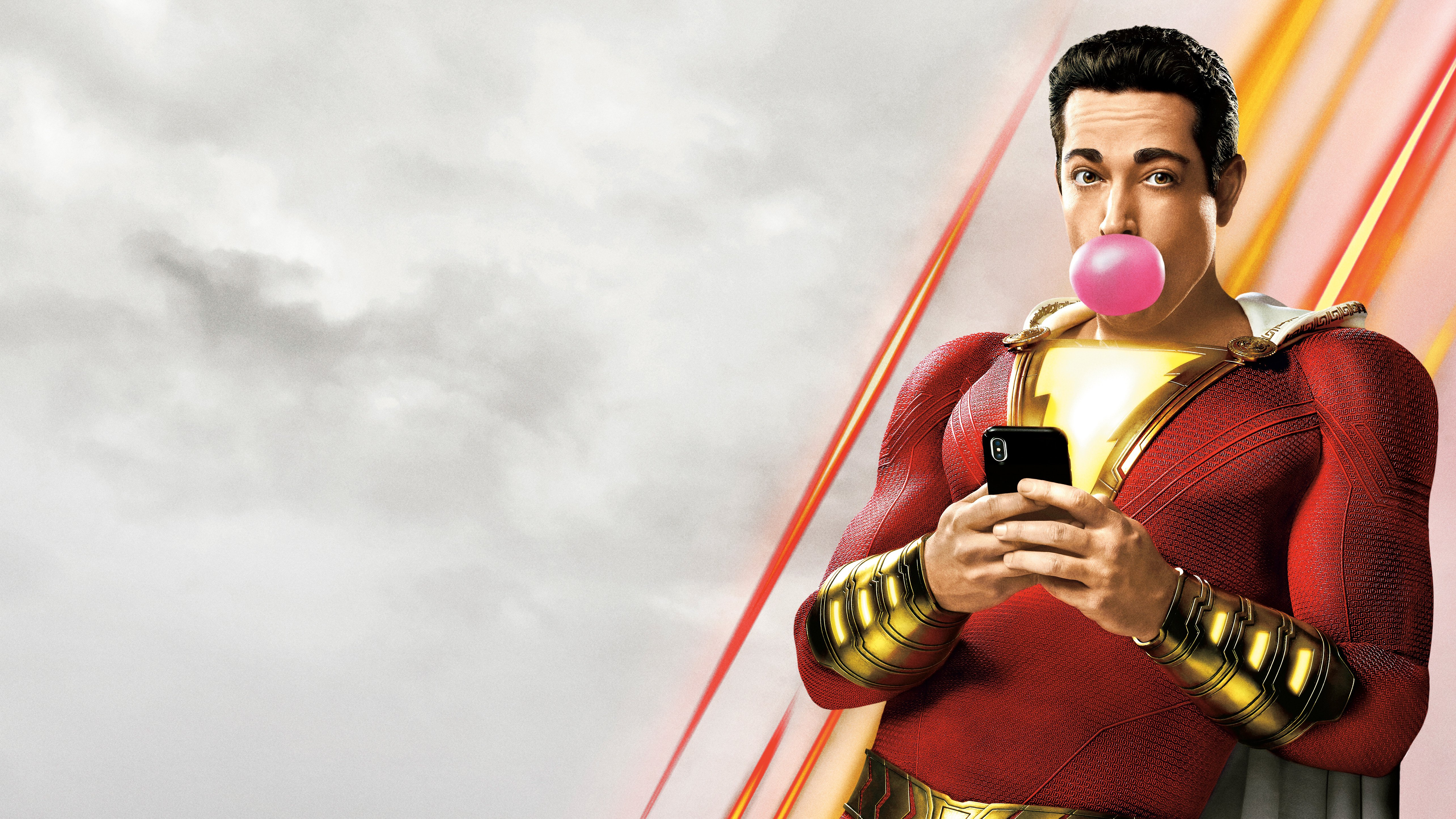 Shazam 5k Retina Ultra HD Wallpaper Background Image 5136x2889